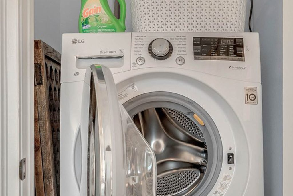 full washer and dryer picture for Clermont Cabanas in Clermont Florida